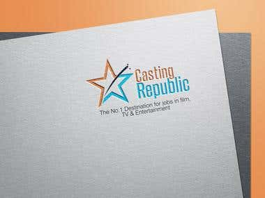 Logo Design for male and female actors selection company