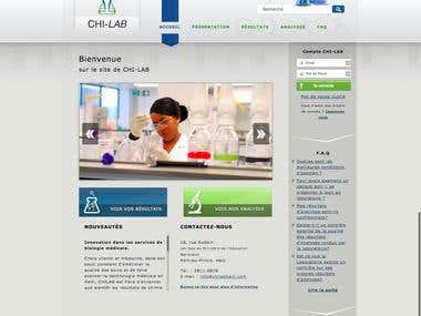 Website Design: Chi-lab