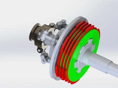 3D WORKING MODEL OF CLUTCH