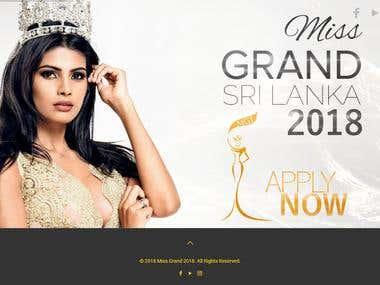 Miss Grand Sri Lanka 2018