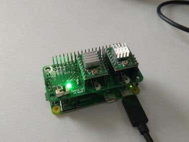 Stepper control Raspberry Pi