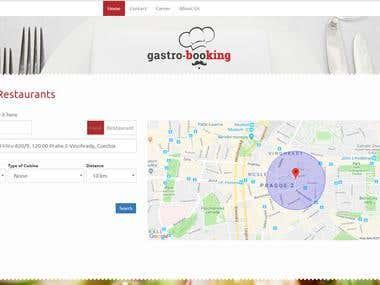 Larvel - gastro-booking.com