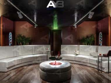 Cinema Room Interior Design, and sofa design.
