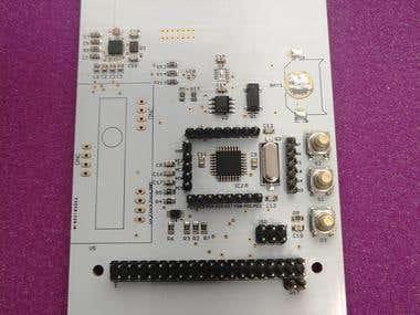Atmega328 + Raspberry 3 + Radio transmitter