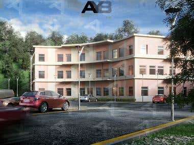 Residential Building Exterior Design & Visualization by AYB.