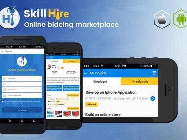 Skill Hire Apps