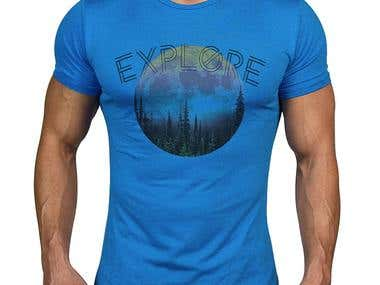 Outdoor t-shirt designs