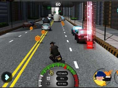 Hostile Traffic Race