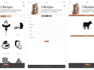 Screenshots(React Native,iphone)