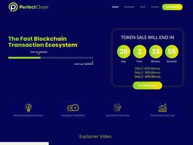 PerfectChain ICO Website