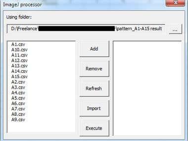 ImageJ processor VBA Excel Macro