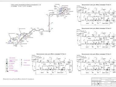schematic diagram hvac