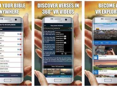Bible VR(Native Android)