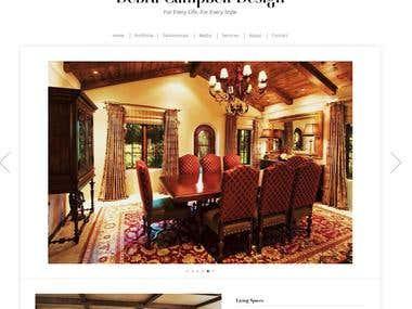 Debra Campbell Design(Wordpress)