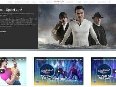 Official Website(Wordpress)