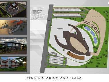 SPORTS STADIUM PLAZA: ARCHITECTURAL PROPOSE