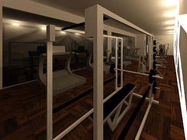 Interior Design by using Autodesk Revit Architecture