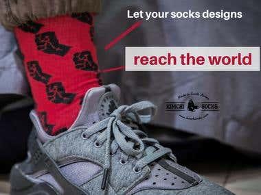 Kimchi Socks - Social Media Marketing