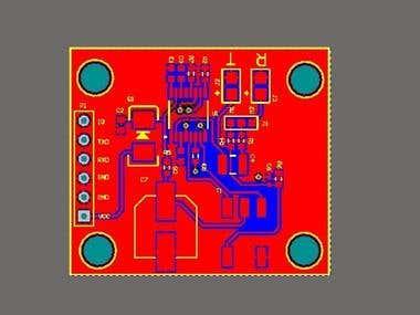 Ultrasnic Sensor 58.6KHZ