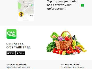 Food delivery software - Uber EAT CLONE