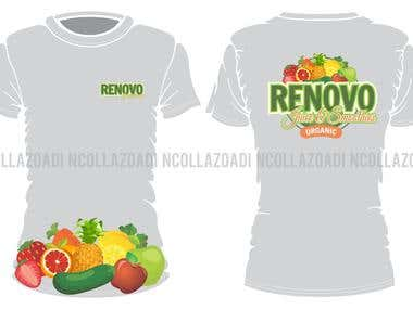 T-SHIRT Design RENOVO