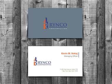 Company Business Card Design