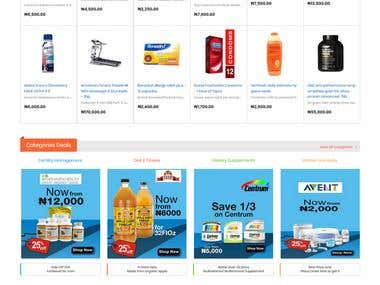Magento 2 Drug & pharmacy Store