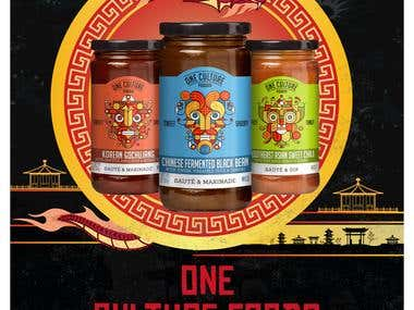 One Culture Foods Poster