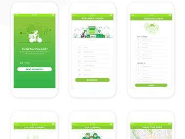 My Eco Couriers Business Apps