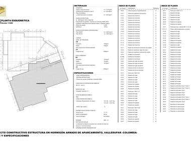 Project of Singular Structural Parquing in Mall