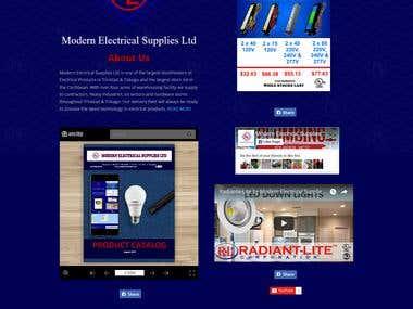 Large E-Commerce Website