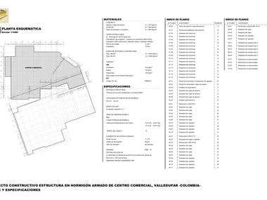 Project of Singular Structural Mall