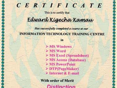 information technology training