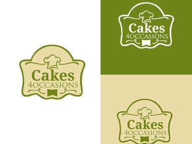 Logo for a Custom Cake Designer