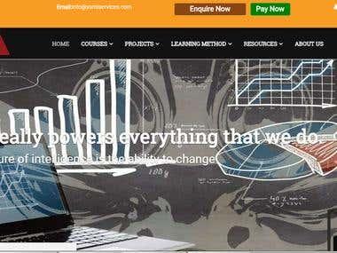 Education Institute Website
