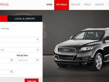 Cab Booking Website