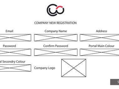 Company Admin Wireframe-1