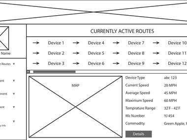 Company Admin Wireframe-