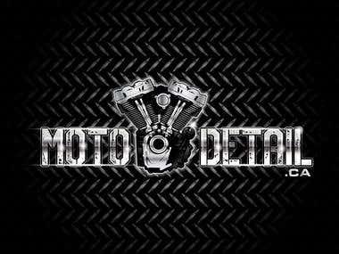 Logo Design for Motodetail.ca