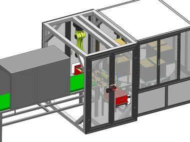 Turntable wafle loading station