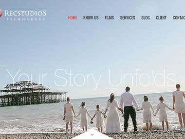 RecStudios Website