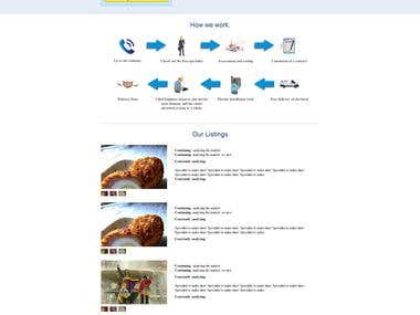 One Pager Site