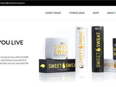 Sweetsweateurope.eu - Fast- Custom Wordpress Website