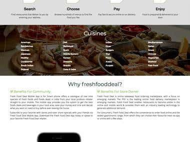 Online Food Order Management