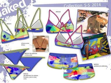 BEACHWEAR - WOMAN AND KIDS COLLECTION SS 2014