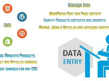 CMS Manage DataEntry Content Import