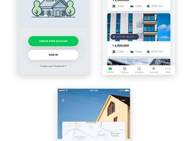 Home - Mobile App Design