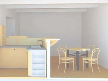 Render Interior design