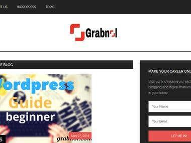 Dynamic Blogging Wordpress Website