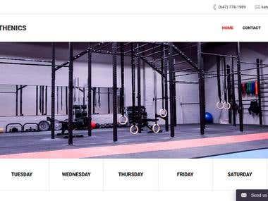 Zym Dynamic Wordpress Website
